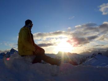 Dolomieten skihuttentocht